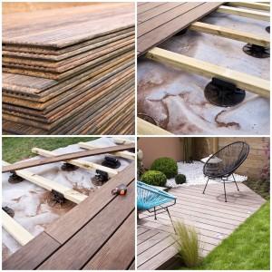 Faire une terrasse en bois étapes par étapes