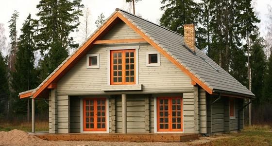 Construction d'une toiture en bois