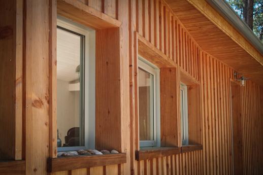 L 39 ossature fen tre en bois faire une terrasse en bois for Pose de fenetre sur ossature bois